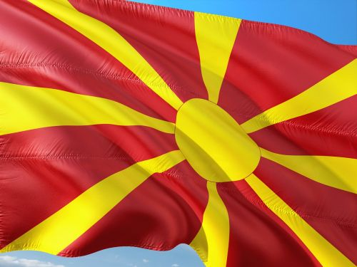 international flag macedonia