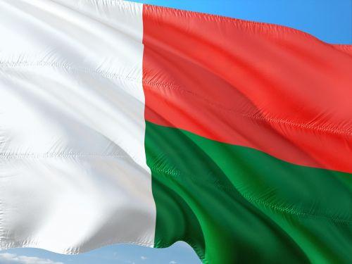 international flag madagascar