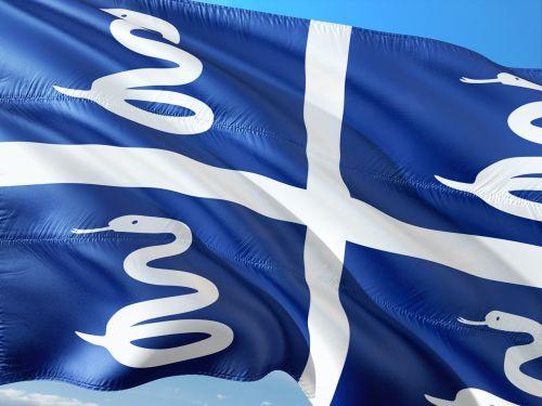 international flag martinique