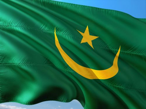 international flag mauritania
