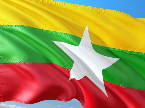 international flag myanmar