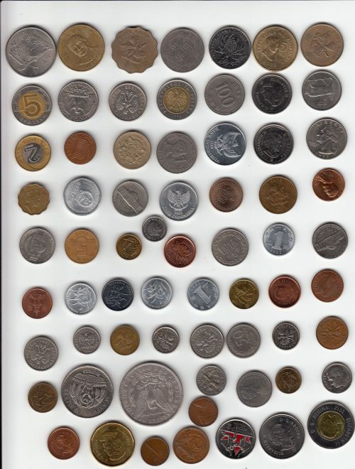 collection,international,coin,coins,value,currency,unit,many,international coins