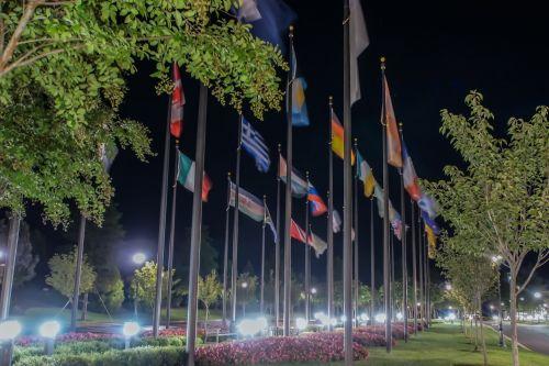International Flag Alley
