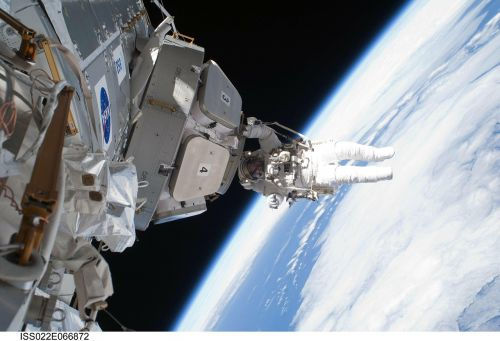 international space station iss astronaut