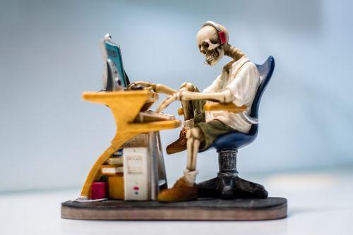 internet skull web