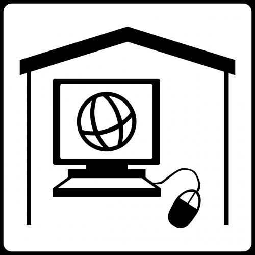 internet café internet computer