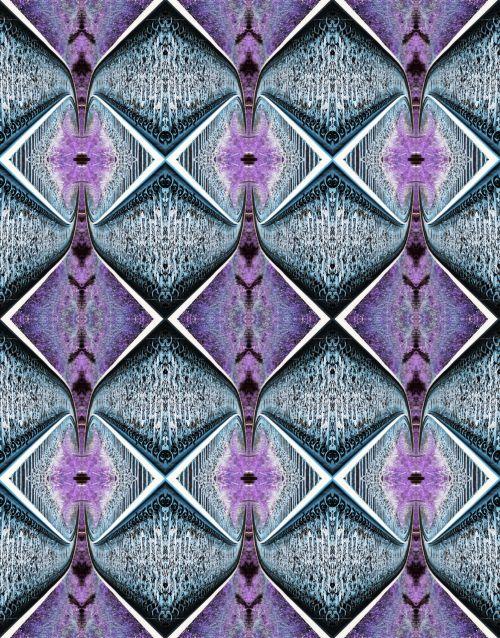Intersecting Diamond Patterns