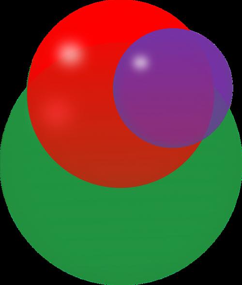 intersection circles balls