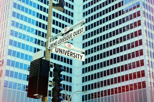 intersection city urban