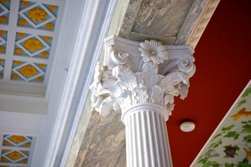 Intricate Corinthian Columns