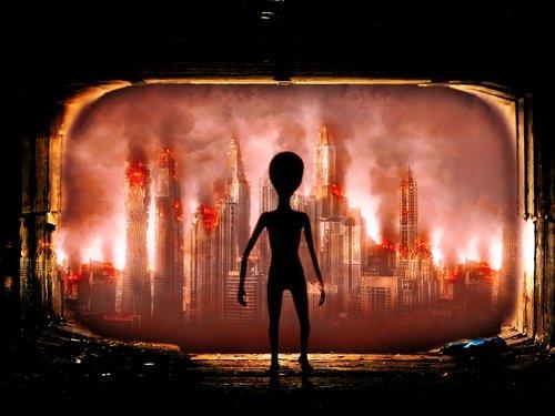 invasion  alien  ufo