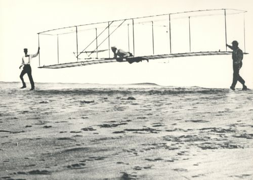 invention wright brothers aircraft