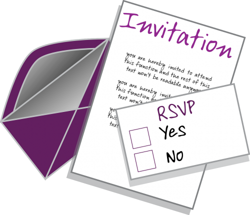 invitation party wedding