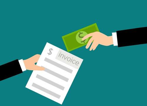 invoice  cash  payments