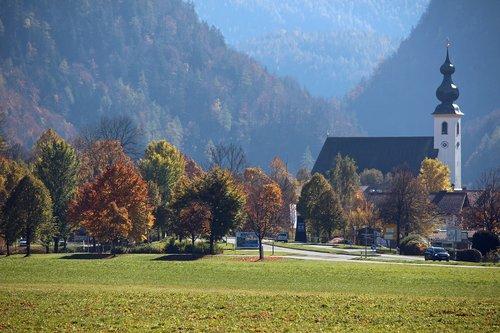 inzell  chiemgau  church