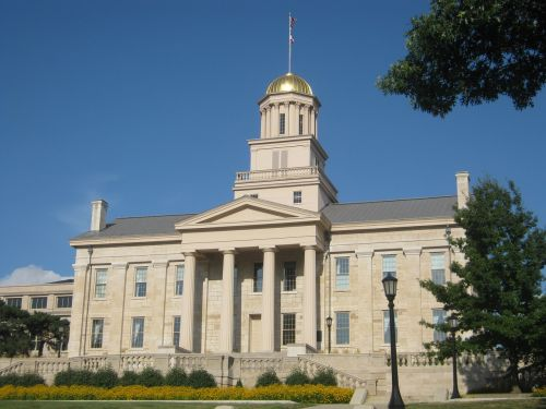 iowa city old capitol iowa