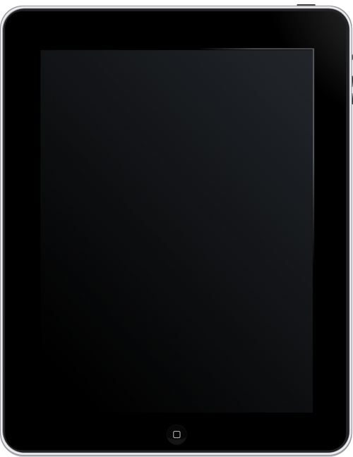 ipad tablet touchpad