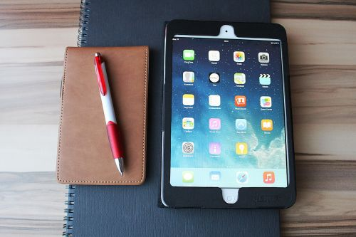 ipad tablet notebook