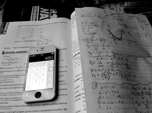 iphone mathematics study