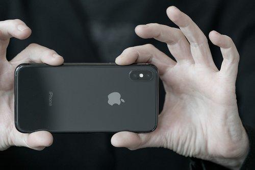 iphone x  hands  iphone
