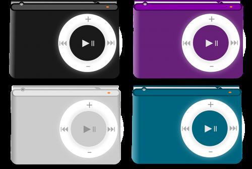 ipod shuffle mp3 player apple
