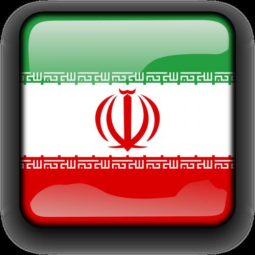 iran flag islamic republic of iran