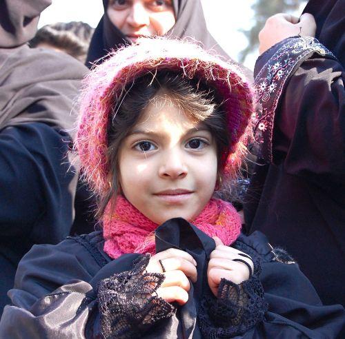 iran child tehran