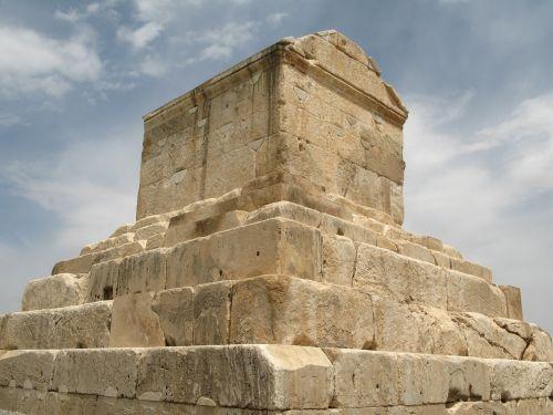 iran pasargade the tomb of cyrus