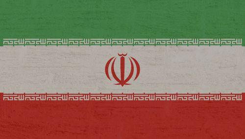 iran flag international