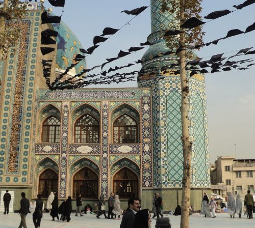 iran mosque tehran