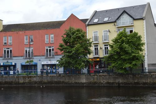 ireland galway typical houses