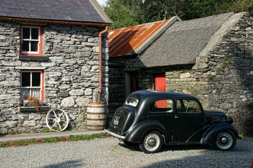 ireland oldtimer auto