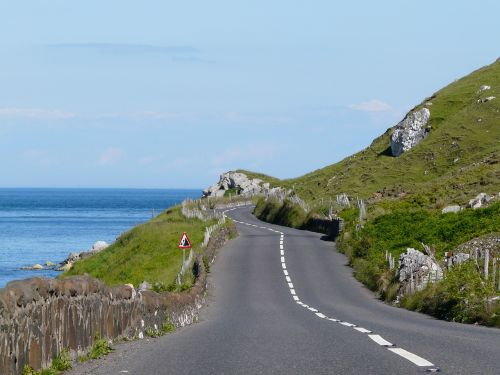 ireland road coast