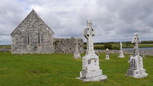 ireland clonmacnoise celtic crosses