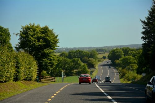 ireland road travel