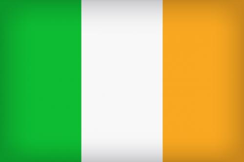ireland irish flag country