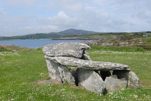 ireland  cork  dolmen