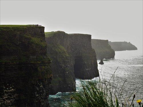 ireland  cliffs of moher munster  cliffs