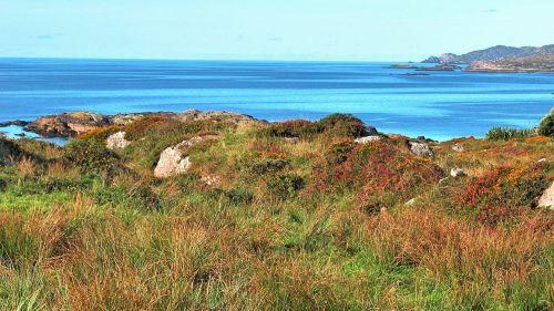 ireland coast coast line