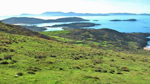 ireland island sea