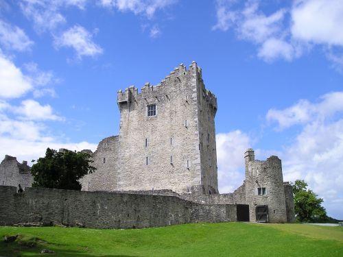 killarney ross castle relic