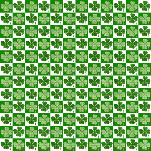 Irish Clover Background