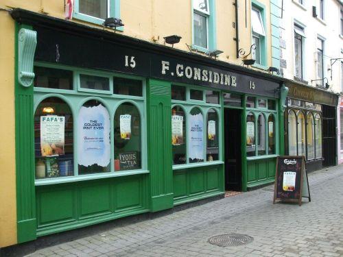 irish pub pub pub front