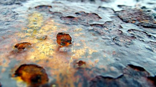 iron rust steel