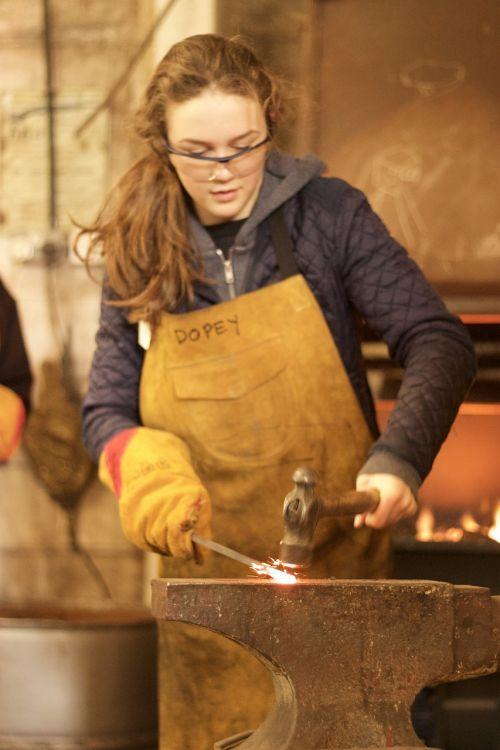 iron anvil metal