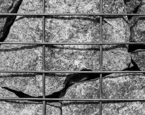 iron grid stones