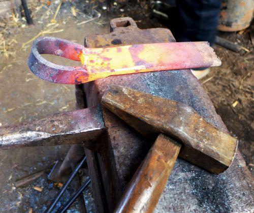 iron tool flame