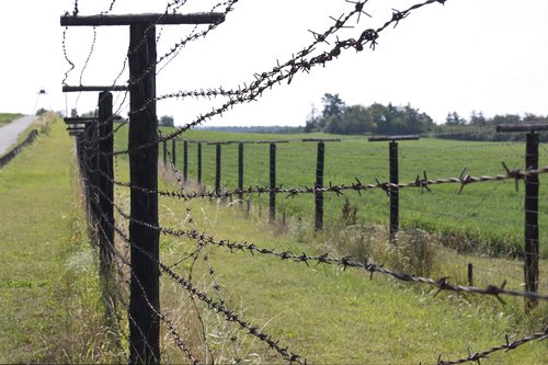 iron  curtain  fence
