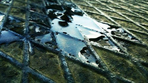 iron metal water