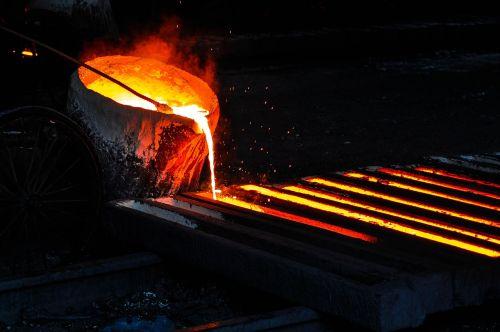 iron melt furnace